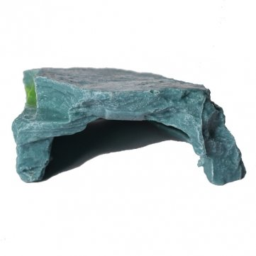 Souked Aquarium Artificial Tortoise Terrace Cave Hole Fish Tank Decoration