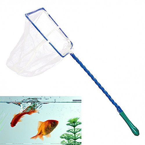 AQUARIUM FISH TANK 3″ 4″ 5″ 6″ FISH NET SMALL BIG FISHES TROPICAL COLD WATER Fusion (TM)-8 x 10 cm