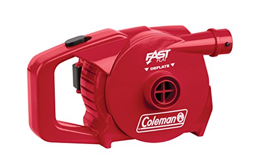 Coleman Rechargeable QuickPump UK- Red, 12-Volt