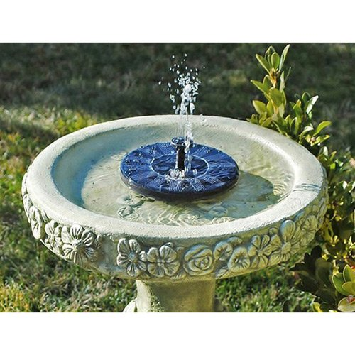 MVPOWER® Solar Panel Water Floating Pump Fountain Garden Pool Watering Solar Pump Set Reviews