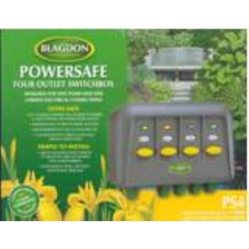 Blagdon Powersafe Switchbox – 2 Outlet