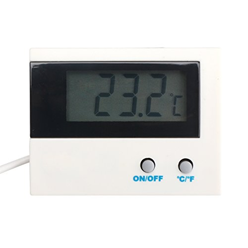 DEOK Digital Thermometer Celsius/Fahrenheit ℃/℉ Display Aquarium Refrigerator Freezer