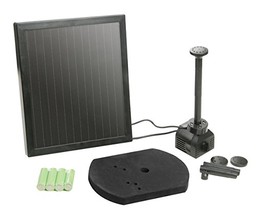 200LPH Solar Water Pump Kit with LED's and Battery Backup