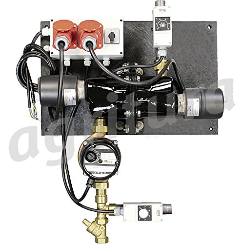 Circulation Heater Mod. 312with thermostat and circulation pump – 1010312