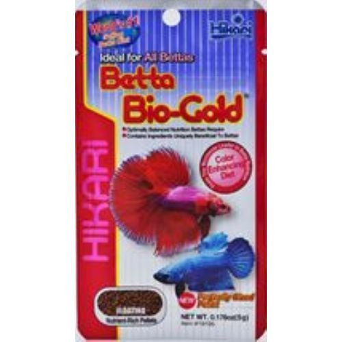 Hikari Tropical Betta Bio-Gold Tropical Fish Food – Floating Pellets 5g