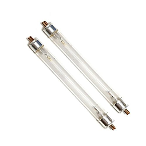 Twin Pack 15w (watt) T8 Replacement UV Bulb Lamp for Pond Filter UVC
