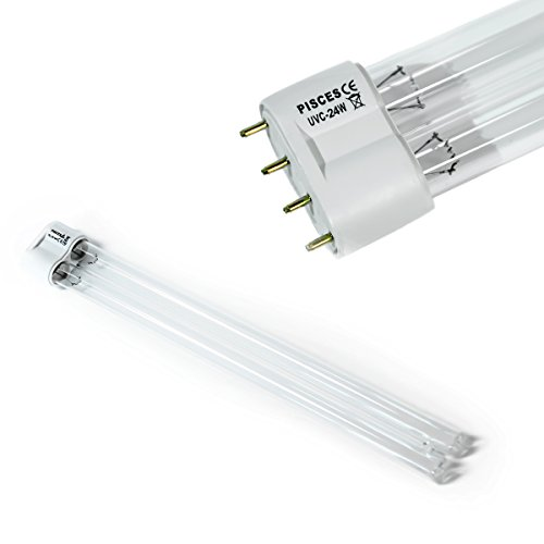 24w (watt) PLL Replacement UV Bulb Lamp for Pond Filter UVC
