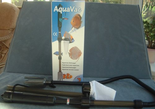Aquarium fish tank BATTERY powered vacuum syphon Reviews