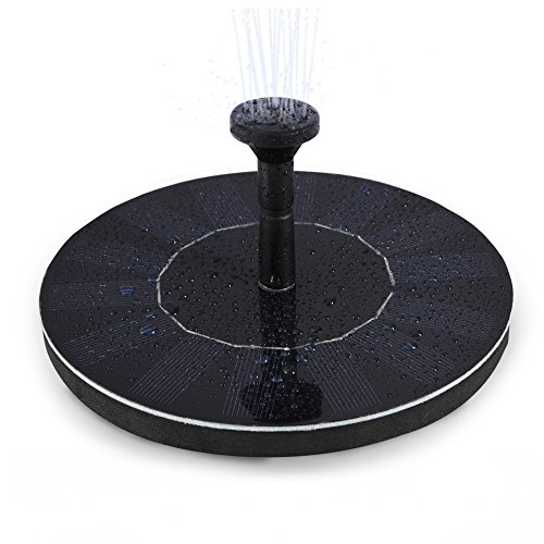 LEDGLE Solar Bird Bath Fountain Pump, 1.4W Free Standing Solar Fountain Water Pumps Panel Kit Outdoor Birdbath Watering Submersible Pump for Garden Patio Courtyard Pool Aquarium Reviews