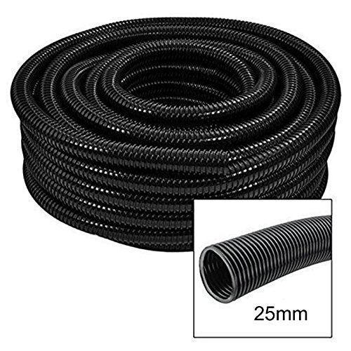 First4Spares 20 Metre 1″ (25mm) Premium Quality Flexible Fish Pond Flexi Pipe