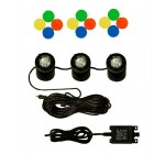 Water Feature Underwater Spot Light Kit – Set of 3