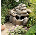 Gardman 19070 Babbling Boulders Water Feature