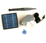 PK Green 1.5W Solar Powered Oxygenator Pond Aerator / Oxygen Pump