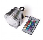 Generic 10W 12V RGB Color Changing LED Underwater Fountain Landscape Pond Led Light with 24 keys Remote Contronller Silver Reviews
