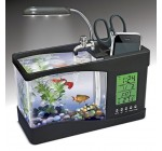 USB Mini LCD Desktop Fish Tank Aquarium Timer Clock By BuyinCoins