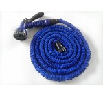 BLUE 50FT Expandable Garden Flexible Hose & Spray Gun
