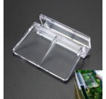Souked 4PCS Aquarium Tank Plastic Clips Glass Cover Strong Support Holders