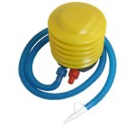 Inflatable Toy Balloon Ball Foot Air Pump Inflator Yellow Blue