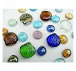 Man Friday Shell Shapes Colorful Crystal Clear Glass Stone Aquarium Decoration Reviews