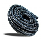 1.25in (32mm) Corrugated Black Pond Flexi-hose (by the metre)