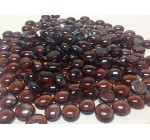 Dashington 5 Pounds-flat Amber Colored, Glass Marbles for Vase Filler, Table Scatter, Aquarium Decor