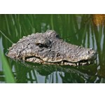 Floating Detailed Crocodile Head For A Pond or Water Feature In The Garden.