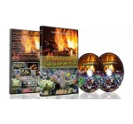 Fire and Fish – 2 DVD Set – Fireplace and Tropical Reef Aquarium 2016 with Fish Tank Sounds or Music