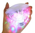 Ailiebhaus Swimming Colorful Light Floating Pond Pool LED Light for Pond Spa Hot Tub Party Reviews